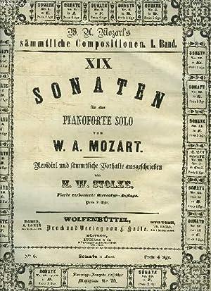 Sonate pour piano solo- Sonaten fur das: Mozart W.A./ Stolze