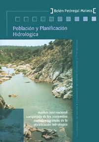 Poblacion y planificacion hidrologica: Pedregal Mateos,B.