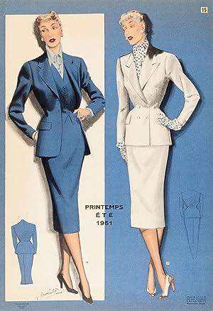 La Mode Masculine, printemps - Ã tÃ: CHOISELAT, Jean.