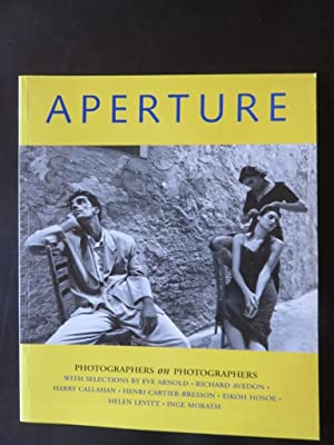 Aperture Spring 151 Photographers on Photographers