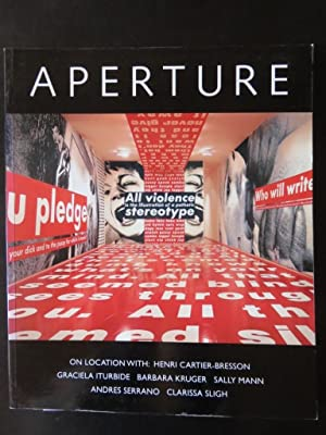 Aperture Winter 138 On Location with: Henri Cartier-Bresson Graciela Iturbide Barbara Kruger Sall...