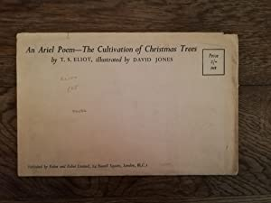 The Cultivation of Christmas Trees.: ELIOT, T.S. JONES,