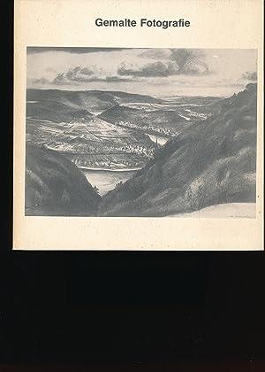 Gemalte Fotografie - Rheinlandschaften,Theo Champion, F. M.: Heusinger von Waldegg,