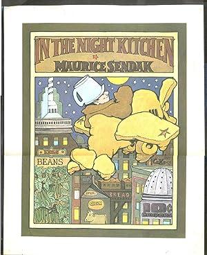 In the Night Kitchen. Poster: Children's] Sendak, Maurice
