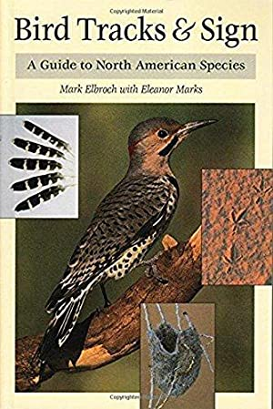"""Bird Tracks & Sign : A Guide to North American Species: Elbroch, Mark"""", """"Marks, Eleanor..."""