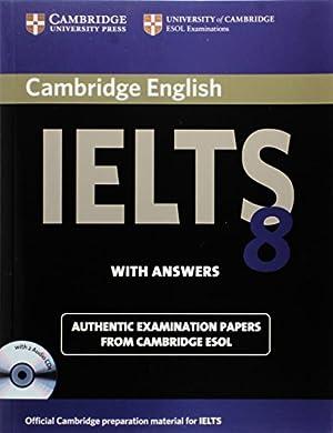 Cambridge IELTS 8 Self-study Pack (Student's Book: Cambridge ESOL