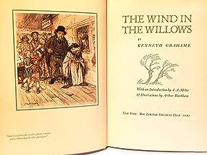 THE WIND IN THE WILLOWS: RACKHAM, Arthur] GRAHAME,