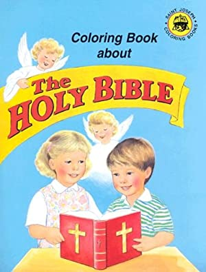 Coloring Book About the Holy Bible: Catholic Book Publishing