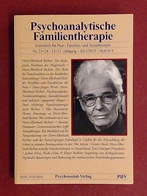 Seller image for Psychoanalytische Familientherapie. Zeitschrift für Paar-, Familien- und Sozialtherapie. Nr. 23 + 24, 12. / 13. Jahrgang 2011 / 2012, Heft II + I. for sale by Wissenschaftliches Antiquariat Zorn