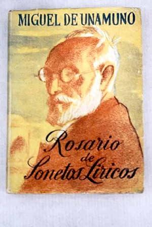 Rosario de sonetos líricos: Unamuno, Miguel de