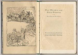 Bild des Verkäufers für Das Märchen vom König Sonntag. zum Verkauf von Rainer Kurz - Antiquariat in Oberaudorf