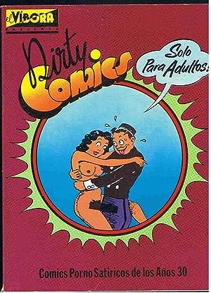 CÓMICS PORNO SATÍRICOS DE LOS AÑOS 30.: Dirty Cómic