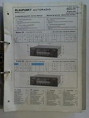 TV, Video & Audio Blaupunkt Autoradio Bedienungsanleitung ...