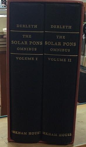 The Solar Pons Omnibus: August Derleth (Basil