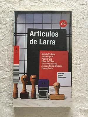 Artículos de Larra: Ángela Vallvey y