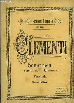 12 sonatinen fur pianoforte: Clementi M.