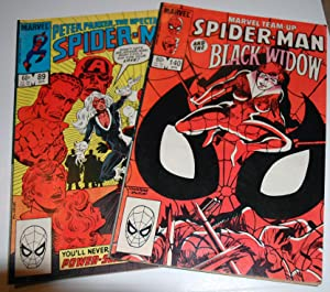 Spider-Man 89 April 1984 and Spider-Man 140