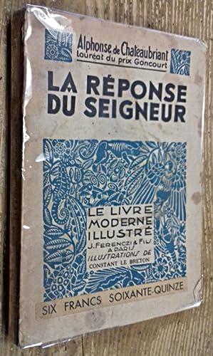 Bild des Verkäufers für La Réponse du seigneur zum Verkauf von Ma P'tite Librairie