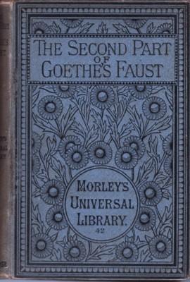 The Second Part of Goethe's Faust: Anster, John, translator