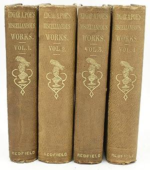 THE WORKS OF THE LATE EDGAR ALLAN: Edgar Allan Poe