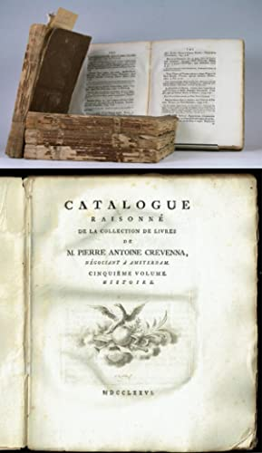 Catalogue raisonné de la collection de livres
