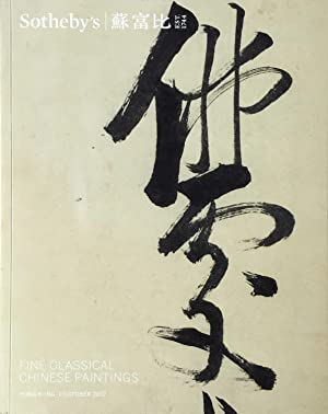 Fine Classical Chinese Paintings, Hong Kong Sotheby's