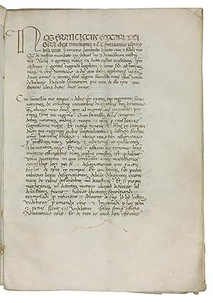 Comissio egregii et nobilis viri domini Jeronimi: Venice - Foscari,