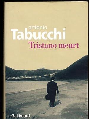 Image du vendeur pour Tristano meurt : Une vie mis en vente par Livres Norrois