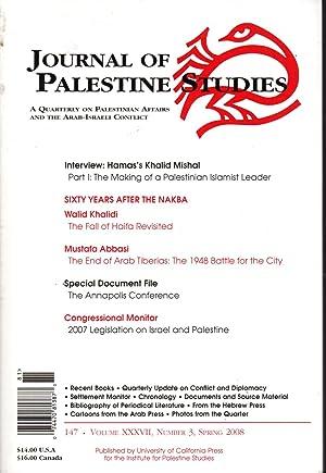 Journal Of Palestine Studies: A Quarterly Of: Khalidi, Rashid I.
