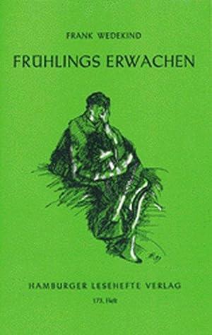 Bild des Verkäufers für Frühlings Erwachen: Eine Kindertragödie zum Verkauf von Versandantiquariat Felix Mücke