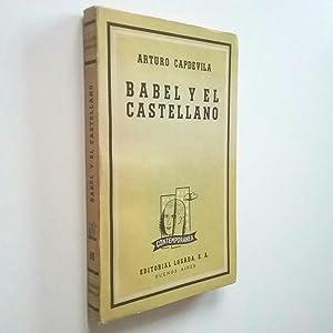 Babel y el castellano: Arturo Capdevila