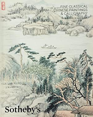 Fine Classical Chinese Paintings & Calligraphy, New