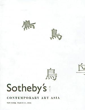 Sothebys March 2006 Contemporary Art Asia -: Sothebys