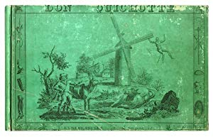 Image du vendeur pour Le Don Quichotte en Estampes, ou les aventures du héros de la manche et de son écuyer Sancho Pança, représentées par 34 jolies gravures. Avec un texte abrégé de Florian, et revu sur l'original espagnol. mis en vente par Jarndyce, The 19th Century Booksellers