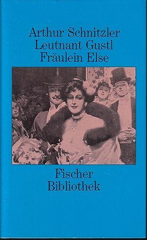 Leutnant Gustl / Fräulein Else: Schnitzler, Arthur