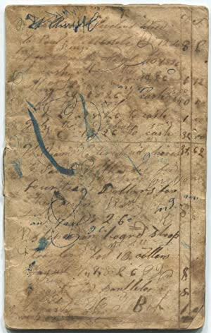 1826-1841 Troy & Brunswick NY Farmer s [ ] Account Book