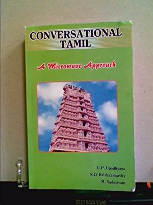 Conversational Tamil a Microwave Approac: Upadhyaya