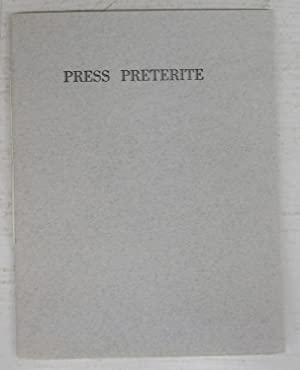 Press Preterite: Twenty Years (and One) of a Hobby