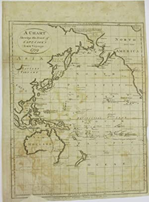 A CHART SHEWING THE TRACT OF CAPT. COOK'S LAST VOYAGE. 1799
