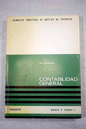 Contabilidad general: Marcaida, José Luis