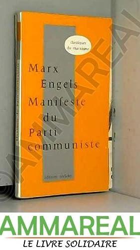 Manifeste du parti communiste: MARX Karl et