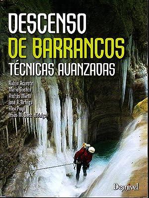 Imagen del vendedor de DESCENSO DE BARRANCOS. TECNICAS AVANZADAS. a la venta por Books Never Die