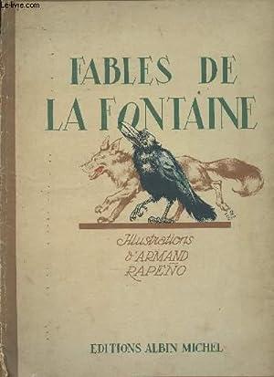 Fables de La Fontaine - Illustrations d'Armand: La Fontaine