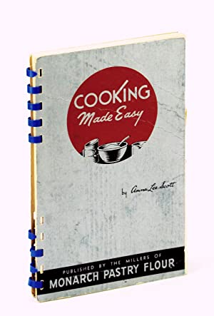 COOKING MADE EASY Published By the Millers: SCOTT, Anna Lee