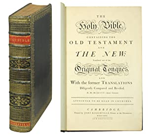 The Holy Bible, Containing the Old Testament: Bible in English].