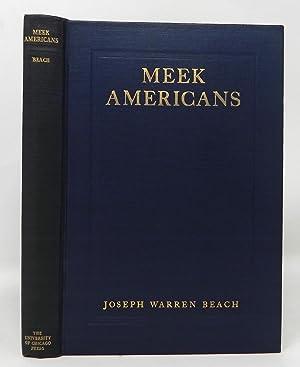 Meek Americans & Other European Trifles: Joseph Warren Beach