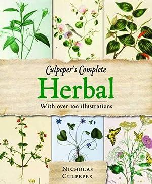 Culpeper's Complete Herbal: Over 400 Herbs and: Nicholas Culpeper
