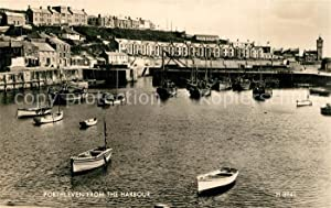 Postkarte Carte Postale 73606601 Porthleven Cornwall View from the harbour