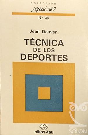 Técnica de los deportes: Jean Dauven