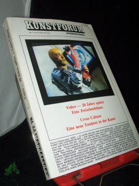 77/78/1985 VIDEO - 20 JAHRE SPÄTER: KUNSTFORUM INTERNATIONAL